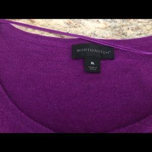 Women's Worthington sweater
